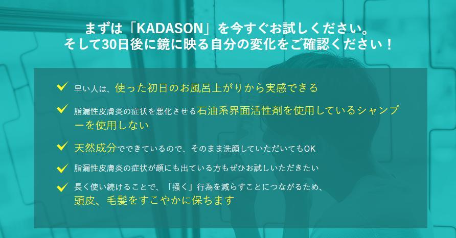 カダソン-KADASON- 効果効能