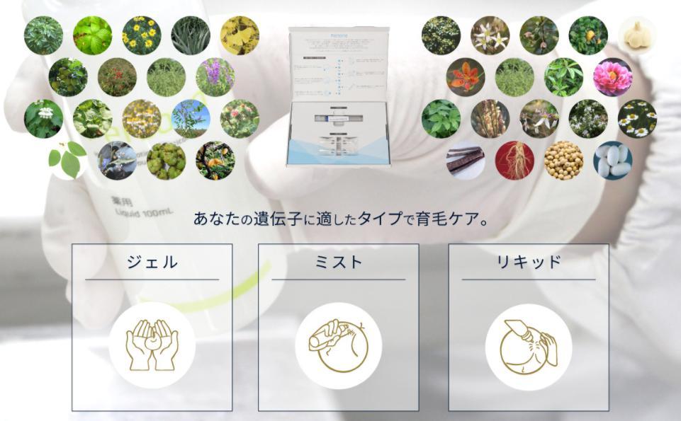 ペルソナ育毛剤-Persona- 成分・原材料